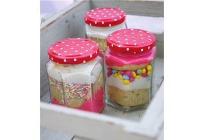 Specials:   Special Orders. Need 48 hours in advance.  Jar Cakes: